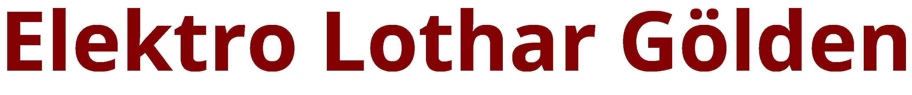 Elektro Lothar Gölden